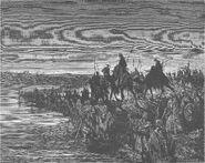 Dore 06 Josh03 The Israelites Cross the Jordan River