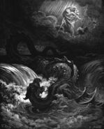 Dore 23 Isa27 The Destruction of Leviathan