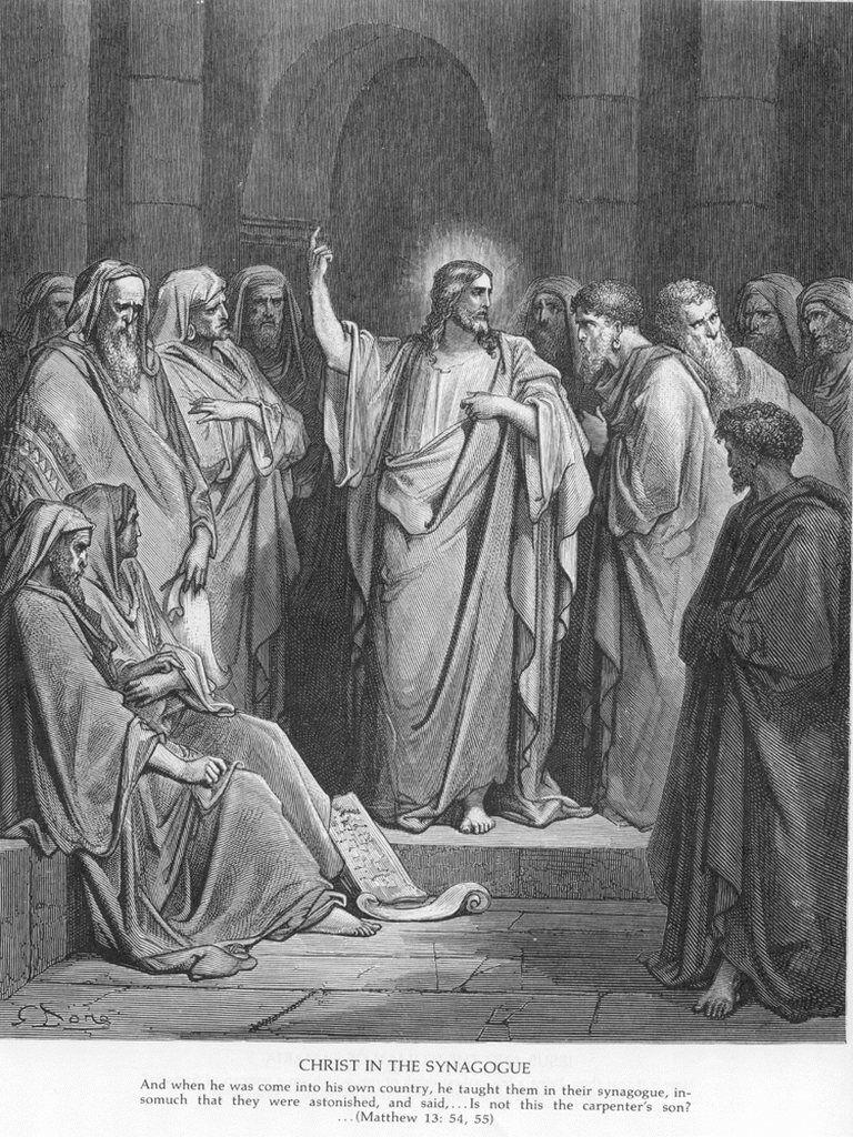 Matt13a Jesus Preachers in the Synagogue.jpg
