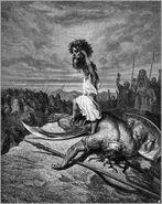 Dore 09 1Sam17 David Slays Goliath
