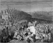Dore 68 2Macc15 Judas Maccabeus before Army of Nicanor