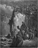 Dore 11 1Kings18 The Prophets of Baal Are Slaughtered