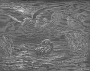 Dore 02 Exod02 The Child Moses on the Nile