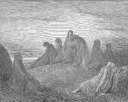 Dore 07 Judg11 Women Mourn with Jephthah's Daughter