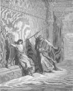 Dore 09 1Sam18 Saul Attempts to Kill David