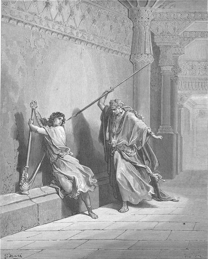 Dore 09 1Sam18 Saul Attempts to Kill David.jpg