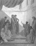 Dore 44 Acts10 Peter in the House of Cornelius