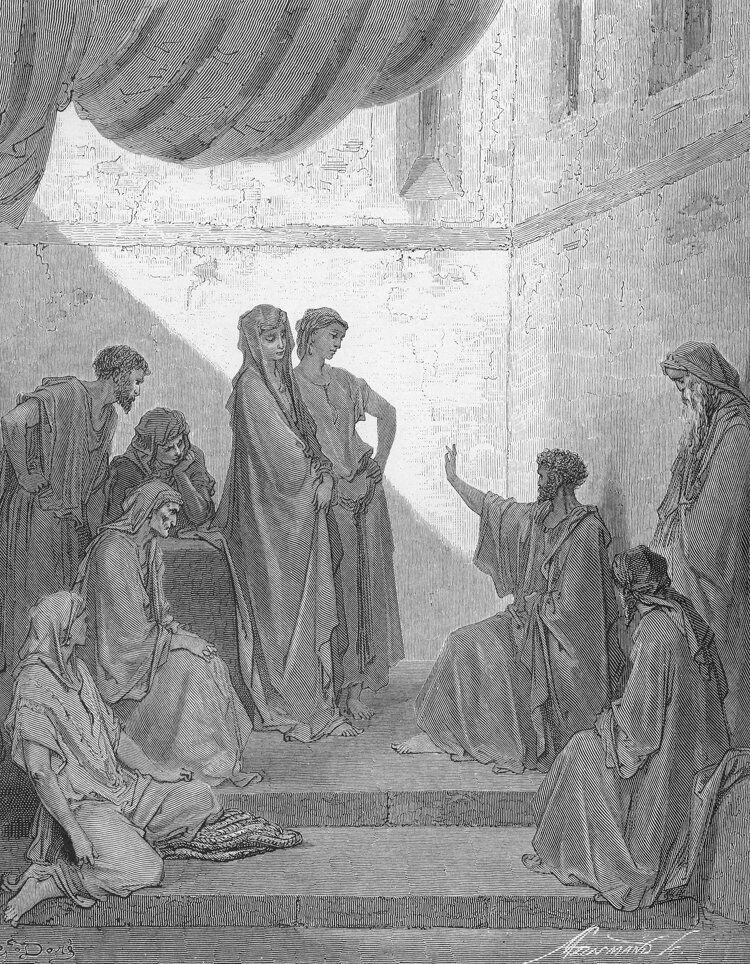 Dore 44 Acts10 Peter in the House of Cornelius.jpg
