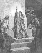 Dore 07 Judg05 Deborah Praises Jael