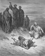 Dore 44 Acts05 Death of Ananias