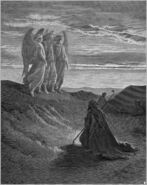Dore 01 Gen18 Abraham and the Three Angels