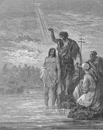 Dore 40 Matt03 The Baptism of Jesus