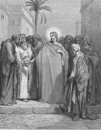 Dore 40 Matt22 Jesus And The Tribute Money