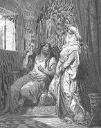 Dore 07 Judg16 Samson and Delilah