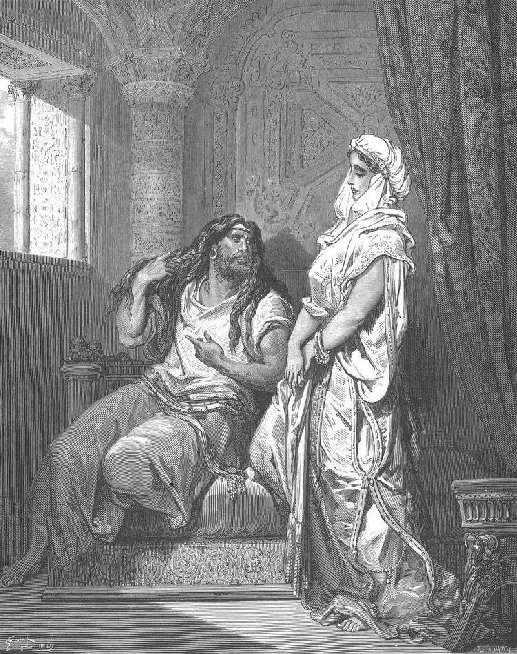 Dore 07 Judg16 Samson and Delilah.jpg