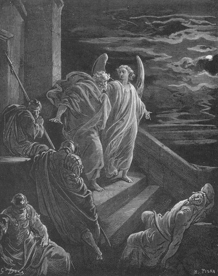 Dore 44 Acts12 Peter Is Delivered from Prison.jpg