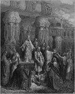 Dore 15 Ezra01 Cyrus Restores the Vessels of the Temple