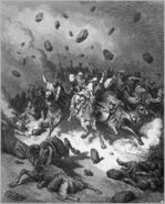 Dore 06 Josh10 The Army of the Amorites Is Destroyed