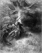 Dore 10 2Sam18 The Death of Absalom