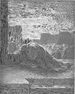 Dore 15 Ezra09 Ezra Kneels in Prayer