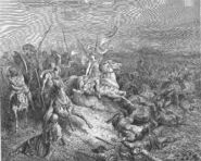 Dore 68 2Macc11 The Angel Is Sent to Deliver Israel