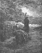 Dore 07 Judg19 The Levite Carries the Woman's Body Away