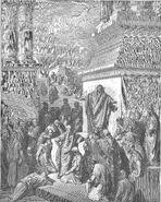 Dore 32 Jonah03 Jonah Preaches to the Ninevites