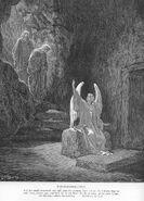 Matt28a The Angel at the Empty Tomb