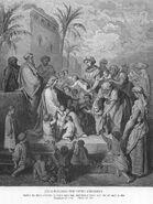 Mark10a Jesus Blesses Little Children