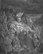 Dore 67 1Macc02 Mattathias Appeals to the Jewish Refugees