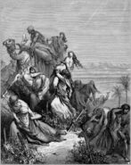 Dore 07 Judg21 The Benjaminites Take the Virgins