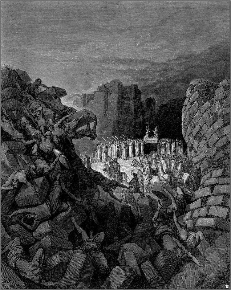 Dore 06 Josh06 The Walls of Jericho Fall Down.jpg