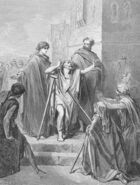Dore 44 Acts03 Peter and John Cure a Lame Man