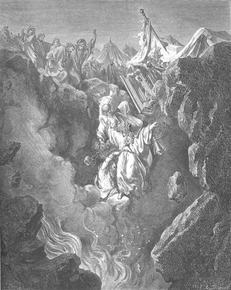Dore 04 Num16 The Death of Korah, Dathan, and Abiram.jpg