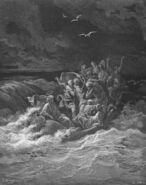 Dore 41 Mark04 Jesus Calms the Storm at Sea