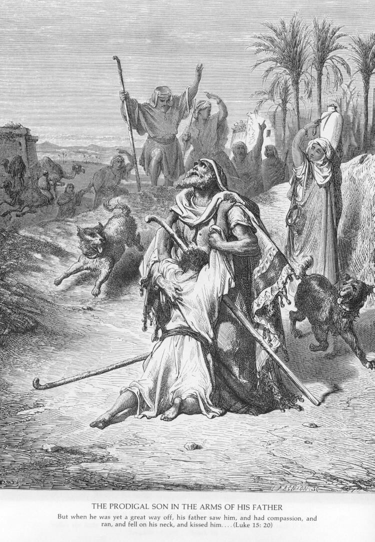 Luke15b Prodigal Son with His Father.jpg