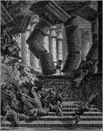 Dore 07 Judg16 The Death of Samson