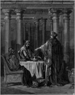 Dore 17 Esther07 Esther Accuses Haman