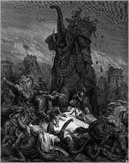 Dore 67 1Macc06 The Death of Eleazar