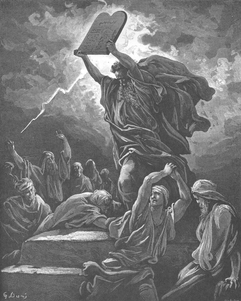 Dore 02 Exod32 Moses Breaks the Tables of the Law.jpg