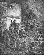 Dore 16 Neh02 Nehemiah Views the Ruins of Jerusalem