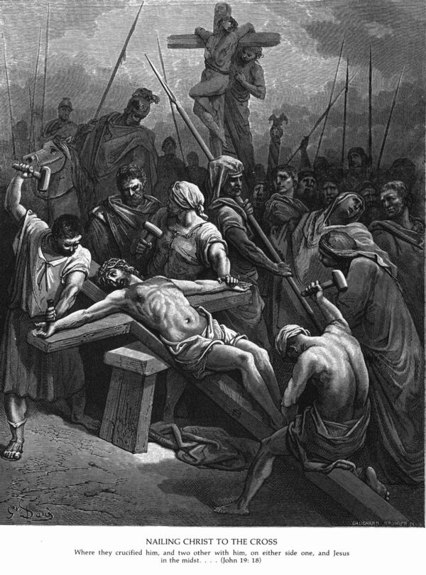 John19d Jesus Is Nailed to the Cross.jpg