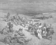 Dore 02 Exod09 The Fifth Plague - Livestock Disease