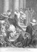 Luke19a Jesus Drives the Buyers and Sellers out of the Temple