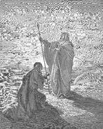 Dore 09 1Sam09 Samuel Blesses Saul