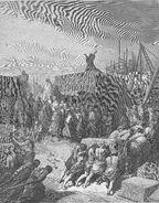 Dore 15 Ezra03 The Rebuilding of the Temple Is Begun