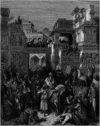 Dore 17 Esther06 The Triumph of Mordecai
