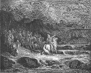 Dore 67 1Macc05 Judas Maccabeus Pursues Timotheus