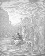 Dore 02 Exod17 Moses Strikes the Rock at Horeb