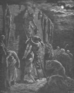 Dore 13 1Chron10 Recovery the Bodies of Saul and His Sons